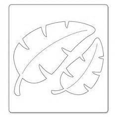 templates for jungle leaves use this leaf template to With jungle leaf templates to cut out