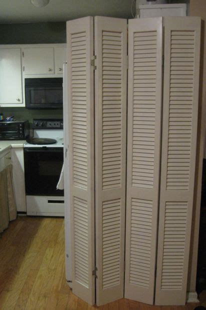 room divider  louvered bi fold doors