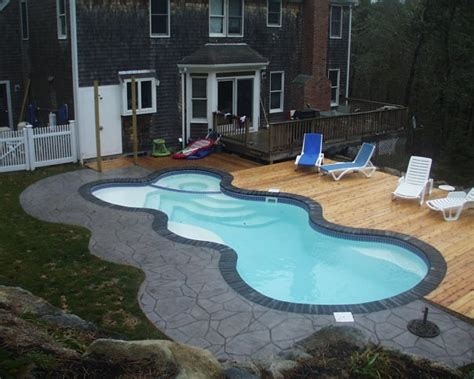inground fiberglass swimming pools cape  aquatics
