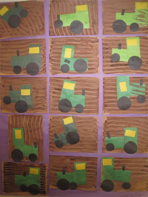 tractors preschool tractor farming 664 | de2289bd5dfa2ace5c2e68a507652ee2