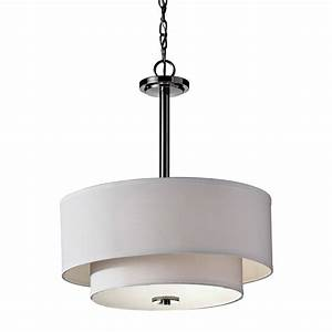 Feiss malibu light drum pendant l brilliant source lighting