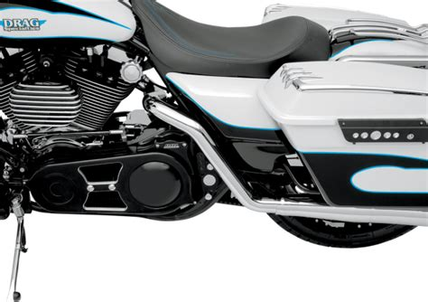 Vance And Hines Dresser Duals Heat Shields by New Vance Hines True Dual Header Pipes Harley 95 08 Flt