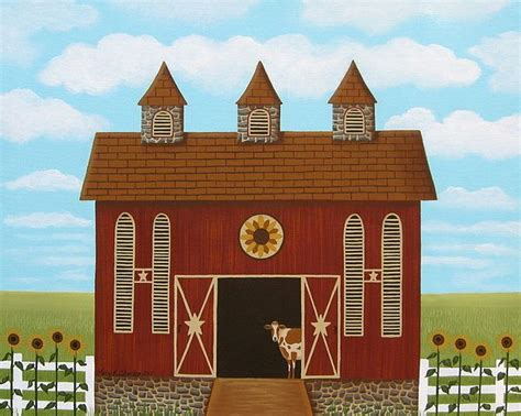 17 Best Images About Mary Charles Folk Art Paintings On