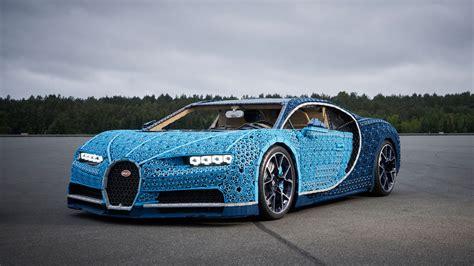 lego built  life size bugatti chiron   drive car
