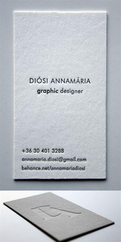 minimal letterpress business card    images
