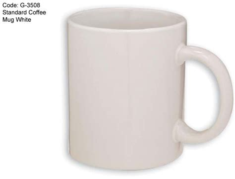 Standard Coffee Mug White (g3508) Cafe Coffee Day Ceo French Press Como Usar Make Youtube Zest Chocolate Powder Asansol Stumptown Grind What Is It Volume