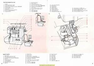 Elna Lock Pro 4 Sewing Machine Instruction Manual
