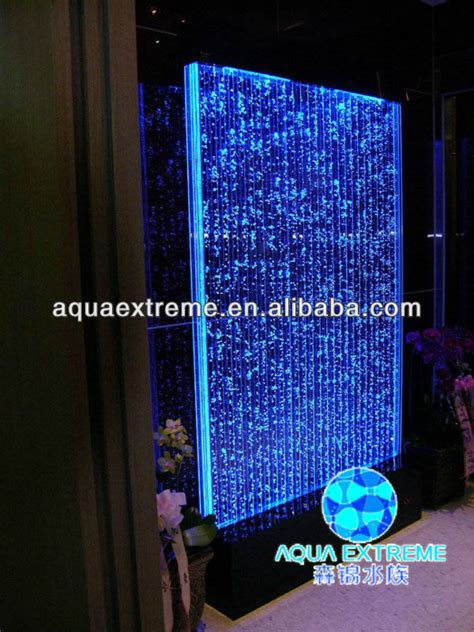 home decration led water wall panel wall divider