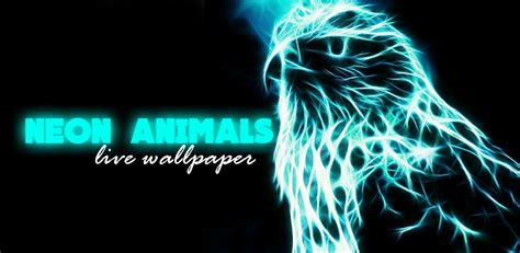 Neon Animal Wallpaper - neon animals wallpaper 2 1 1 seedroid
