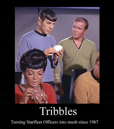 tribbles  tos demotivational  whirlwindofemotion
