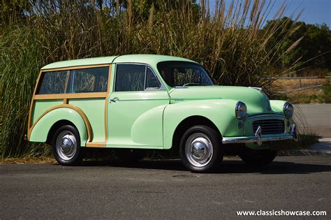 1956 Morris Minor 1000 Traveller by Classic Showcase