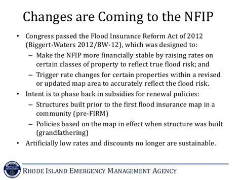 national flood insurance program overview  updates