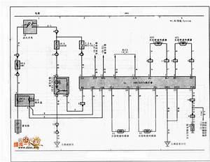 Toyota Vios Abs Control Circuit - 555 Circuit - Circuit Diagram