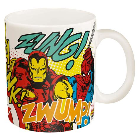 Hero coffee was born out of a desire to deliver the best mobile coffee possible on the planet. Zak Designs Marvel Super Hero Coffee Cup, 11 oz - Bargain Ranger