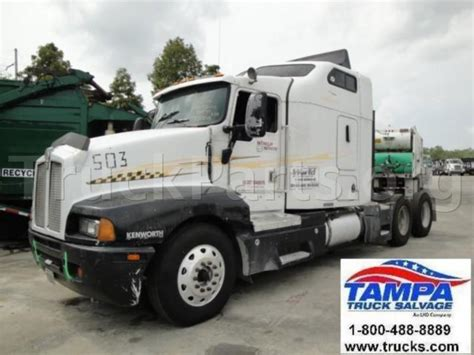 kenworth used truck parts 1997 kenworth t600 salvage repairable truck engine