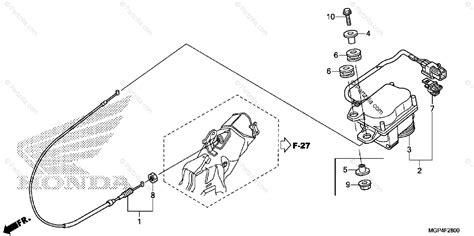 honda motorcycle 2013 oem parts diagram for servo motor partzilla