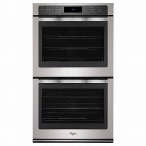 Whirlpool 30 In  Double Electric Wall Oven Self