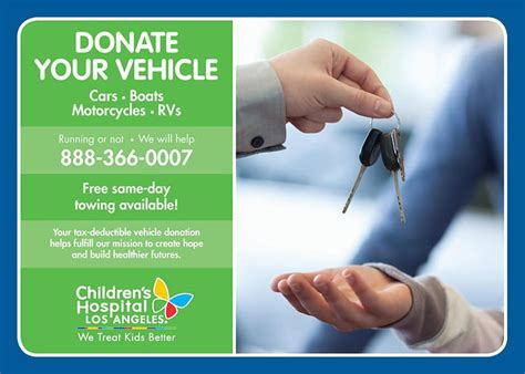 donate items car donation  miscellaneous items chla