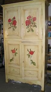 Peinture Sur Meuble : peinture meubles meubles peints d coration de meubles ~ Mglfilm.com Idées de Décoration