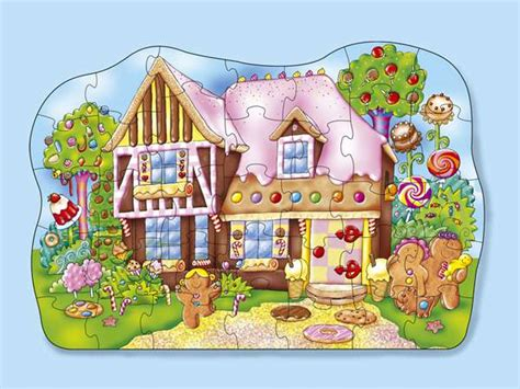 Gingerbread House Jigsaw Puzzle From Jigsaw Puzzles Direct
