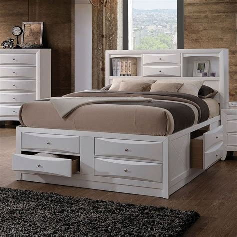 Bookcase Bed by Ireland Bookcase Bed White Acme Furniture Furniture Cart