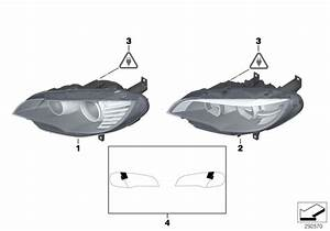 63117359371 - Headlight  Led Technology  Left