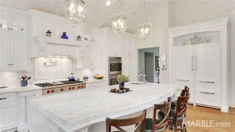 Classic White Quartzite Countertop In A Beautiful Dream