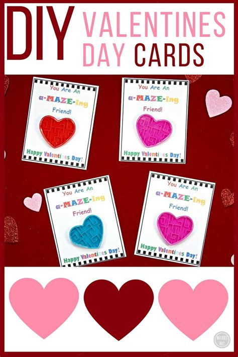 valentines day card kids diy 39 s day cards for kids with free printable