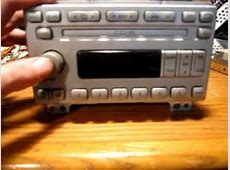 Ford 6 Disc In Dash CD Changer Ship Mode YouTube
