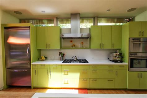 green and kitchen ideas green kitchen cabinets in appealing design for modern