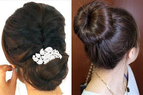 oily hair bun hairstyles   pretty easy  hide