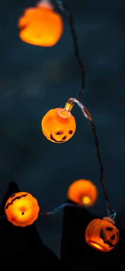 Halloween Iphone Wallpapers Minimal Lights Pack Via