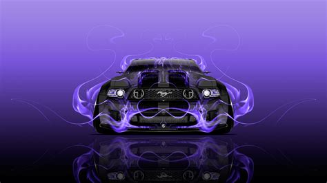 ford mustang gt tuning muscle fire car  ino vision