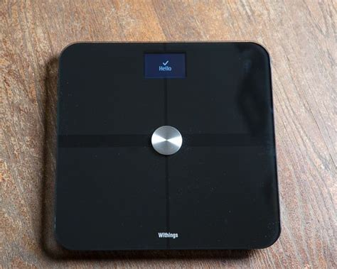 iphone scale track your weight time with withings smart scale and