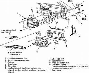Service Manual  1995 Mitsubishi Mirage Heater Blower