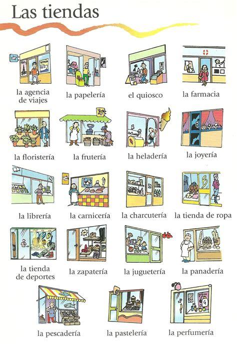 aprende el vocabulario de las tiendas vocabulario