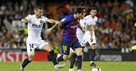 Horario y dónde ver en vivo Barcelona vs Valencia de la ...