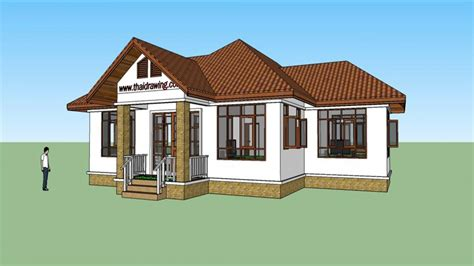 Thai House Plans Free House Thai Architecture Design