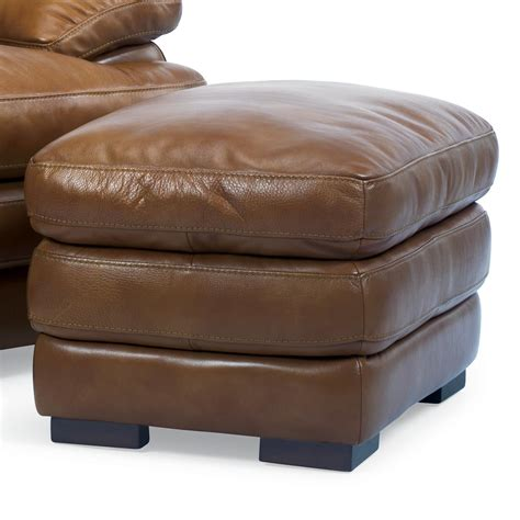 Flexsteel Leather Chair And Ottoman by Flexsteel Latitudes 1127 08 Top Leather