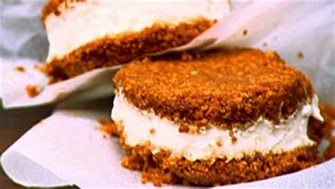 cuisiner longe de porc dessert glacé aux biscuits de gingembre