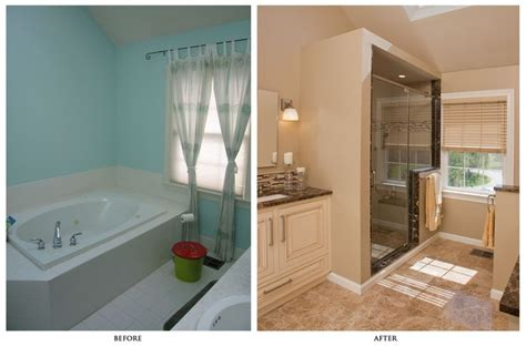 before and after bathroom remodel before and after home