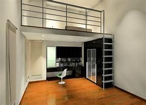Lit Moderne Design : lit mezzanine un choix pratique confortable et moderne ~ Nature-et-papiers.com Idées de Décoration