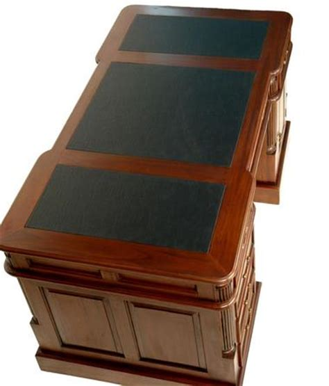 bureau notaire bureau de notaire 180cm meuble en bois acajou medecin
