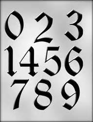 popular baby shower themes large calligraphy numbers chocolate candy mold 90 14277