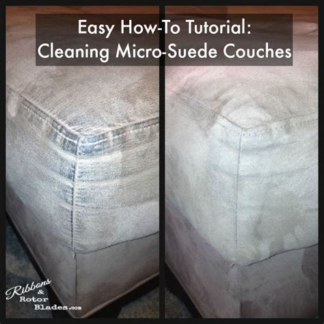 how to clean suede couches ribbons and rotor blades cleaning micro suede couches
