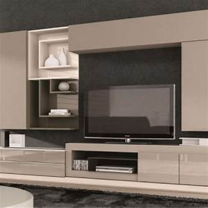 meuble tv design taupe juana living room inspiration With meuble tv suspendu
