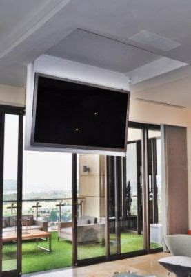 hang tv from ceiling mount  Google Search  Creativity in