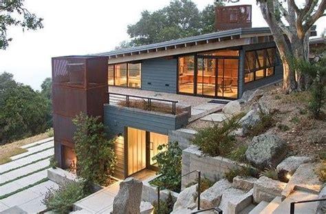 Contemporary Hillside Home Plans Best Of Sloped Land House