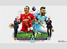 MANCHESTER UNITED V MANCHESTER CITY PREMIER LEAGUE by