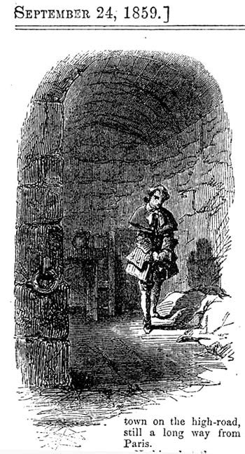 Tale Two Victorians by Headnote Vignette Charles Darnay In Solitary Confinement